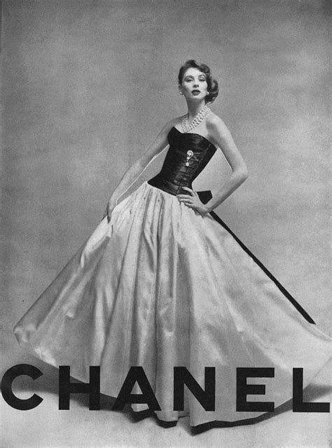 vogue on coco chanel suzy parker for chanel 1956 iconic models of the 1940s 1950s and 1960s gowns