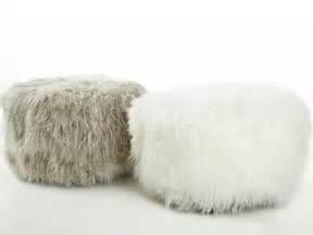 fluffy pouf ottoman fluffy pouf ottoman wholesale fuzzy faux fur footstool