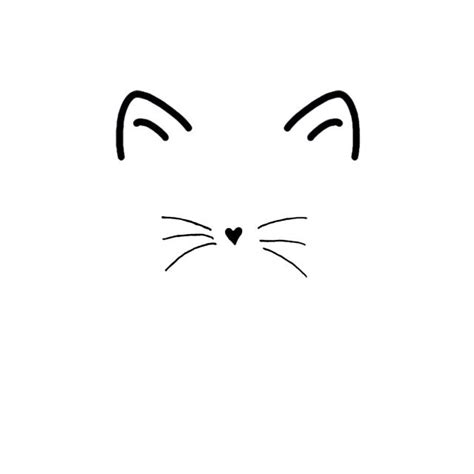 doodle nose meaning 25 best ideas about cat drawing on cat
