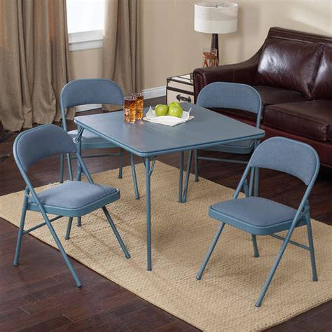 Card Tables And Chairs by Meco Sudden Comfort Deluxe Padded Chair And Back 5