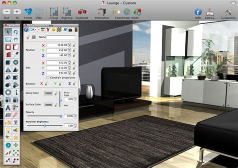 superior Interior Design Software Mac #1: LargeScrShot41.jpg