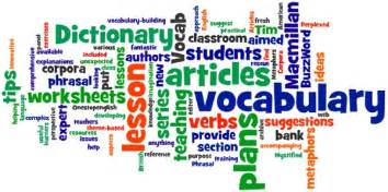 Vocabulary onestopenglish