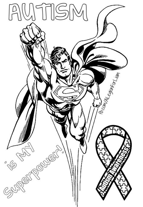 coloring page of autism ribbon autism awareness coloring page fb com alegionforliam
