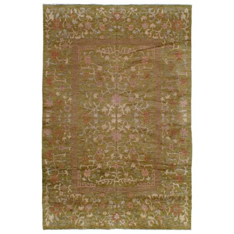 Modern Style Rugs Modern Turkish Karabagh Style Rug For Sale At 1stdibs