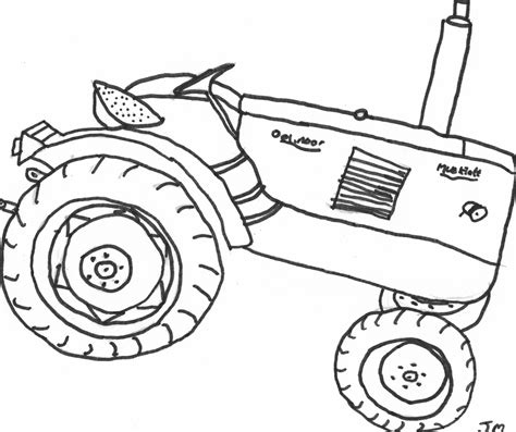 Tractor Printable Coloring Pages free tractors to print coloring pages
