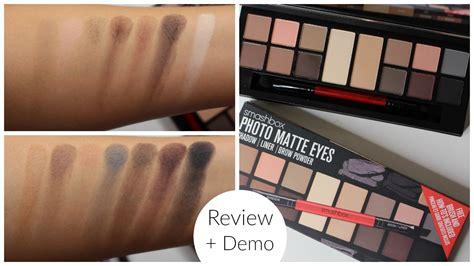 photo reviews smashbox photo matte palette review bailey b