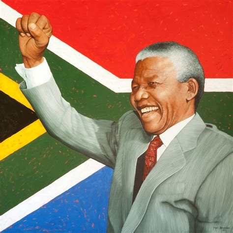 Nelson Mandela let there be work bread water and salt for all nelson