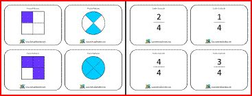mixed number flashcards printable free printable math flash cards fractions