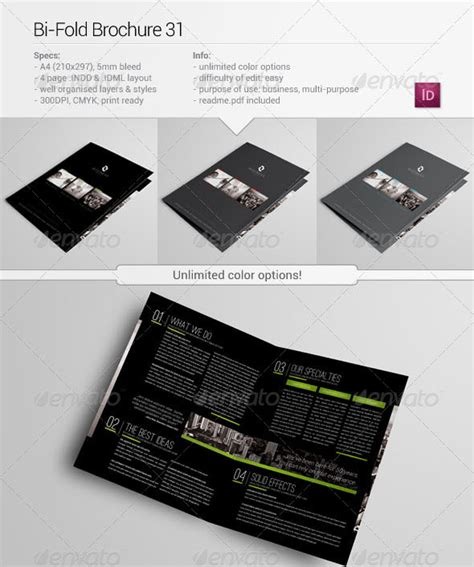 indesign bi fold brochure template 30 high quality indesign brochure templates web