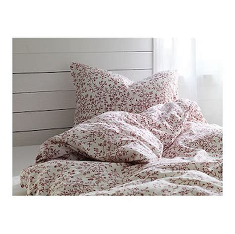 ikea red and white bedding ikea alvine trad duvet cover pillowcases set white tr 196 d