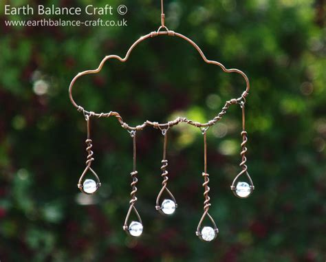 wire for craft projects suncatcher cloud glass drops cloud by