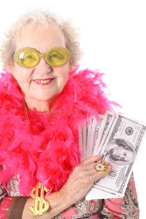 Dream About Winning Money - old woman winning money stock photo image of human lotto 3883604