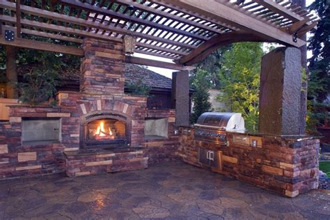 backyard place backyard landscaping ideas exterior fireplaces meant to