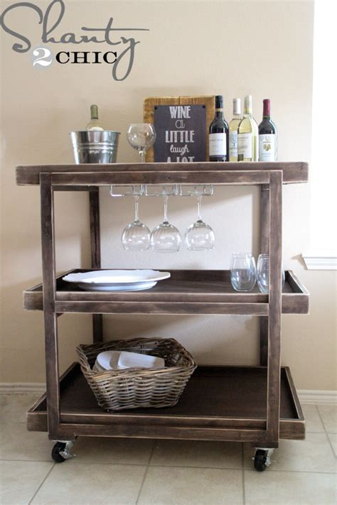 Painting Homes Interior by 14 Inspiring Diy Bar Cart Designs And Makeovers