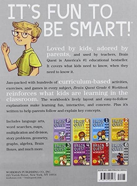 Brain Quest Workbook Grade 2 Ages 7 8 With 150 Stickers brain quest workbook grade 6 chickadee solutions