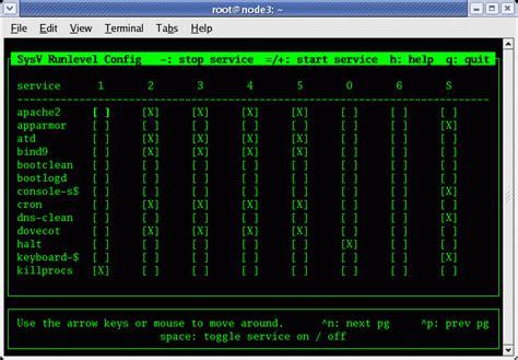 tutorial aptitude linux a small tribute to the sysv rc conf kostas polychronis