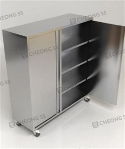 Free Standing W Cabinet Bain Counter Getra Bm6 cheong ss stainless steel upright storage cabinet