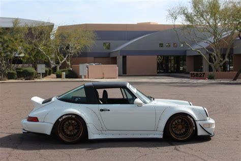 1991 porsche 911 turbo rwb 1991 porsche 911 carrera 2 targa rwb