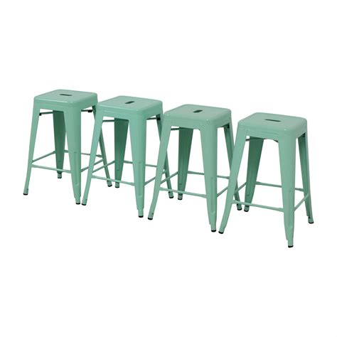 Green Metal Counter Stools 36 green metal counter stools chairs