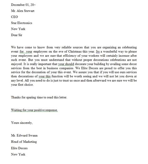 Exle Letter For Service Service Letter Format Best Template Collection