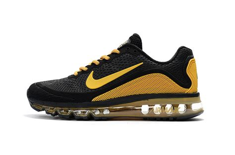 s high end sneakers high end product nike air max 2017 5 kpu black yellow