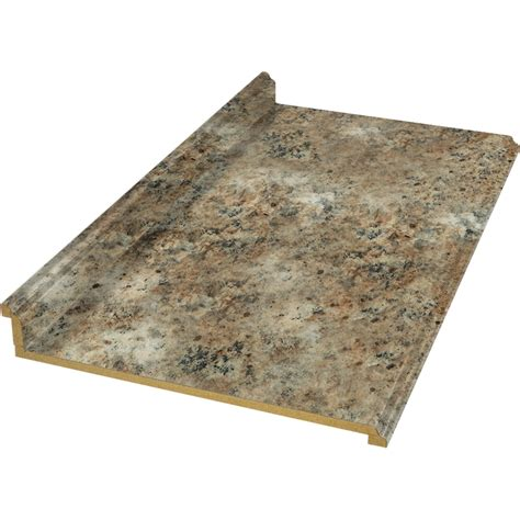Shop Belanger Fine Laminate Countertops 10 Ft Madura Gold Lowes Kitchen Countertops Laminate
