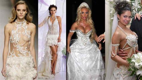 fotos vestidos de novia feos vestidos de novia super yapa friki net