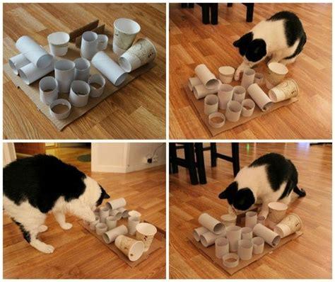 katzenspielzeug selber machen  prickelnde ideen und