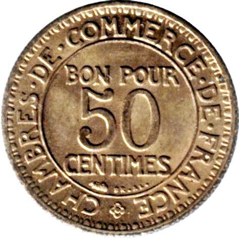 chambre de commerce en anglais 50 centimes chambre de commerce numista
