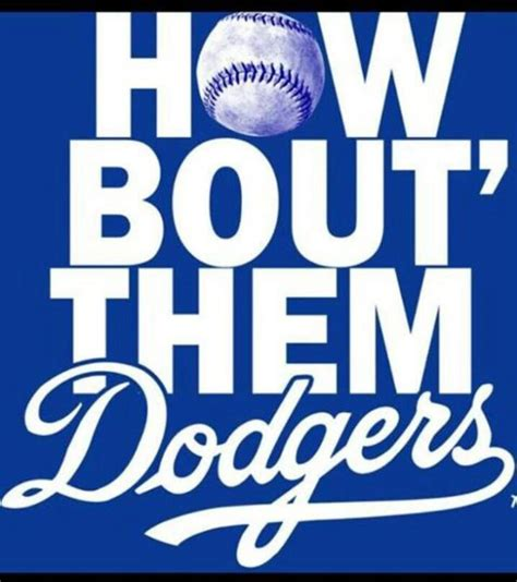 how bout them dodgers dodgers