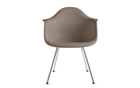 Eames Molded Plastic Armchair by Eames Molded Plastic Armchair 4 Leg Base Herman Miller