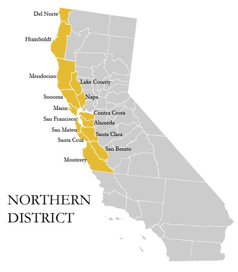 Northern District Of Search Northern California Counties Images