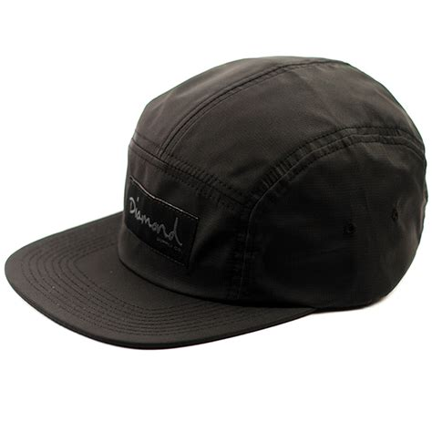 cap porto porto 5 panel cap black forty two skateboard shop