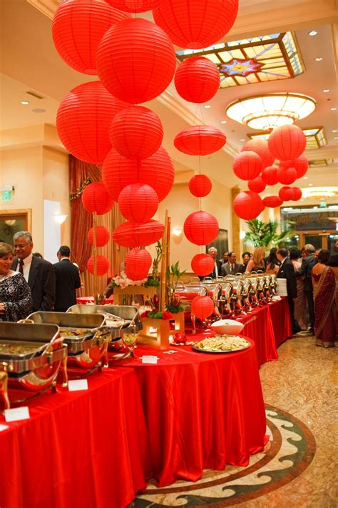 themed food events soniasharmaevents detailed d 233 cor red pinterest events