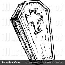 coffin clipart 1124534 illustration by visekart