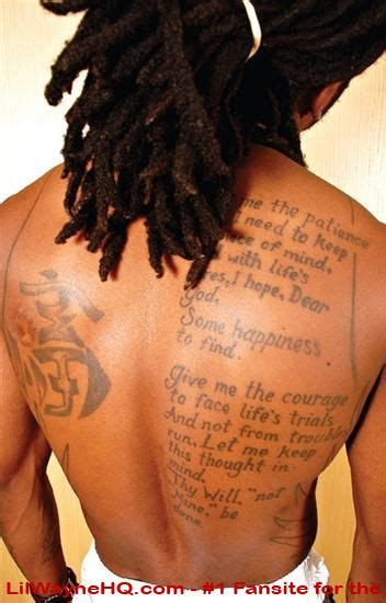 lil wayne s tattoos 301 moved permanently