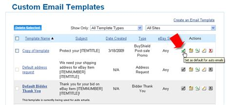 how to customize email templates auctiva tutorials