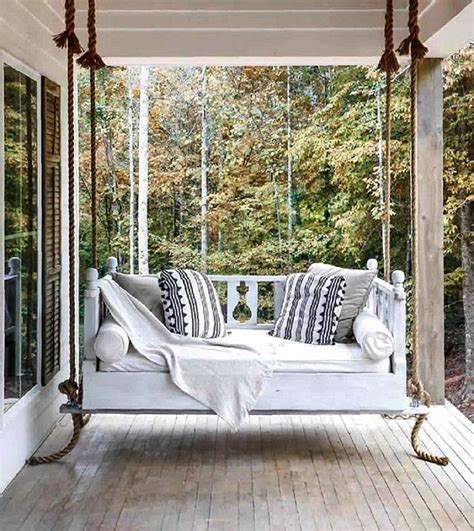swing bed cushions best 25 front porch swings ideas on pinterest porch