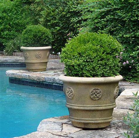 Pool Planters by Quot Rosette Planter Quot For The Garden Pool Project