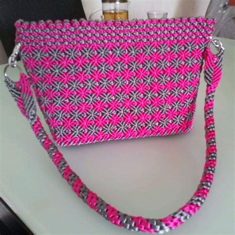 tutorial tas mecrame 17 best images about bolsos en macrame on pinterest
