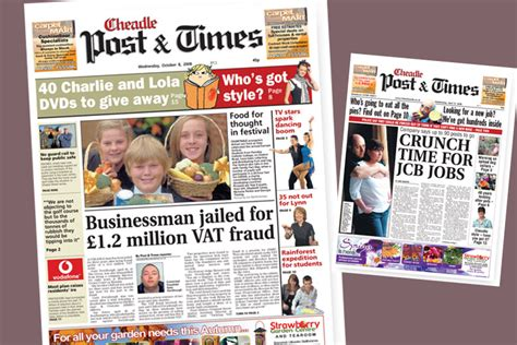 newspaper creative layout chris blackhurst creative freelance creative freelance