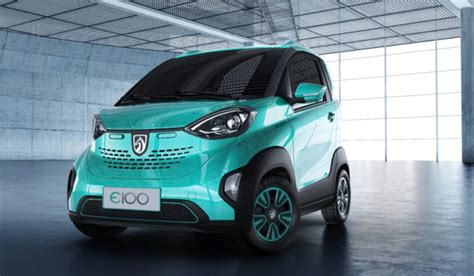 Two Seater Electric Car by Baojun E100 Gm S Tiny Two Seat Electric Car For China