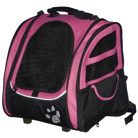Lifepop Stereo Pet Carrier by I Go2 Traveler Pet Carrier In Pink Pg1240pk