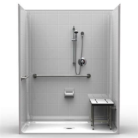 Ada Compliant Shower by Ada Roll In Showers Acessinc