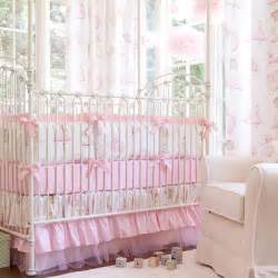Baby Bedding Royal Ballet Crib Bedding Pink And Ivory Ballerina