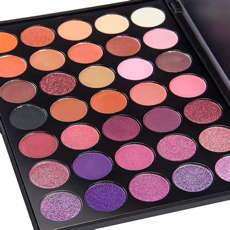 de lanci 35 color eyeshadow makeup palette waterproof