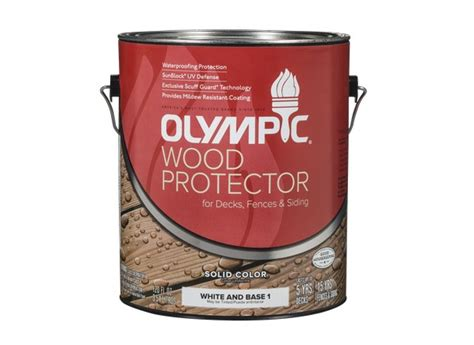 olympic wood protector solid lowes wood stain prices