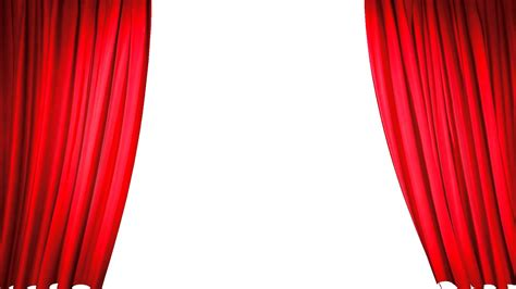 red curtain stage red curtain closing sequence youtube