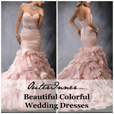 Would You Wear A Wedding Dress That Isnt White by Are Colorful Wedding Dresses For You These Days White