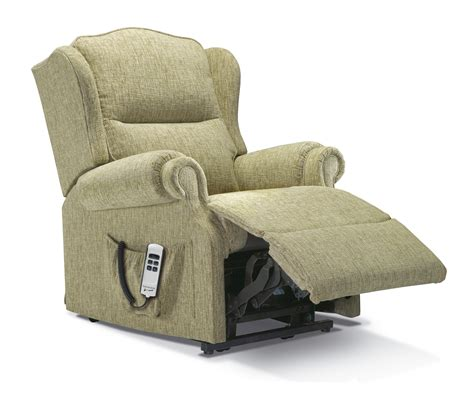 small fabric recliners claremont small fabric lift rise recliner sherborne